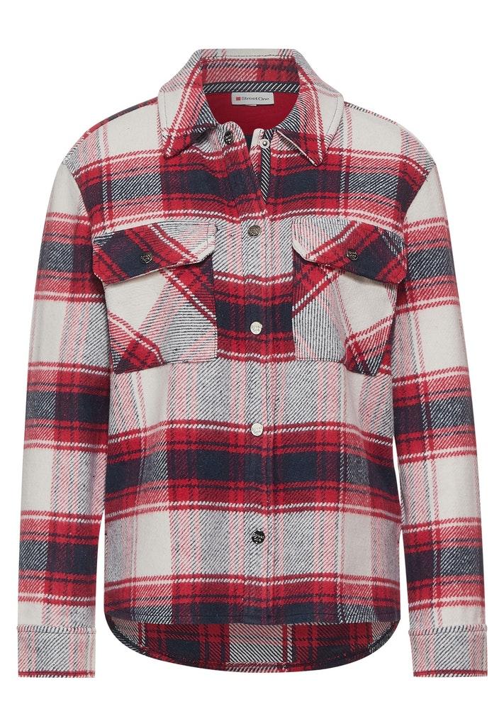 Hemdjacke mit Karo Muster