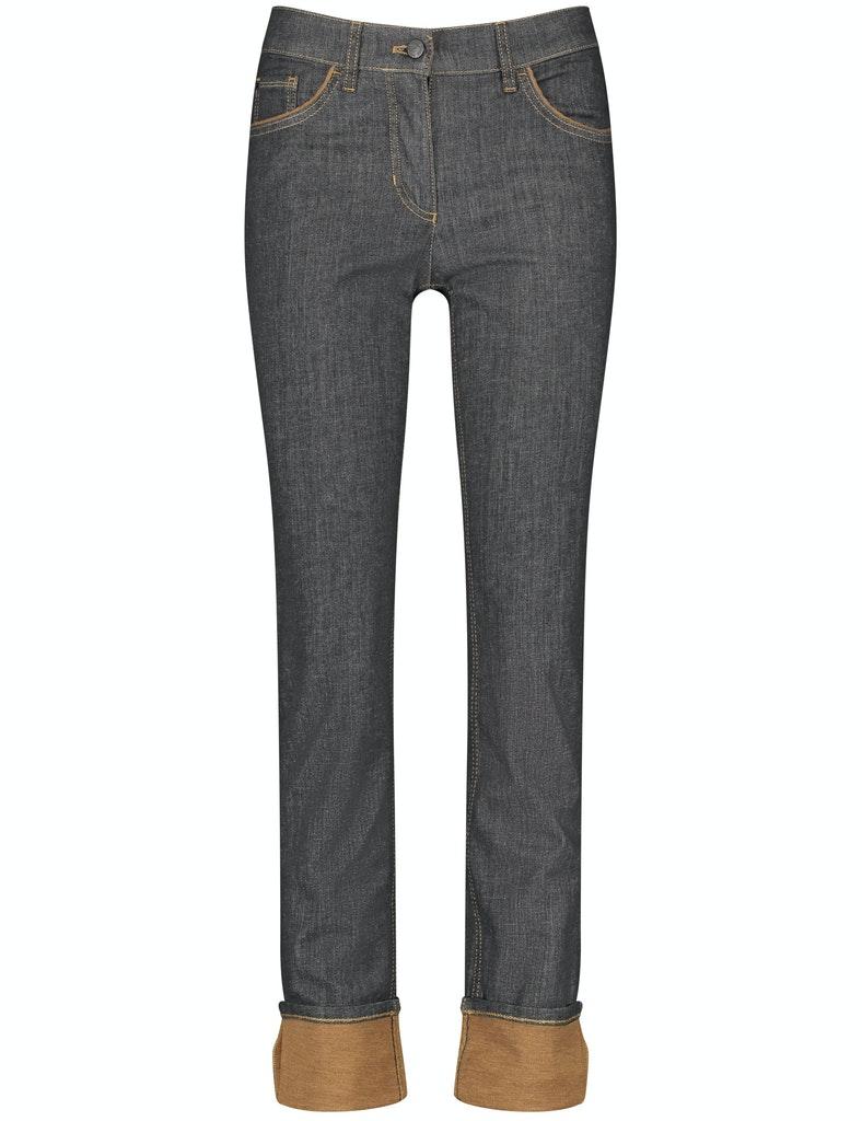 Hose Jeans verkürzt