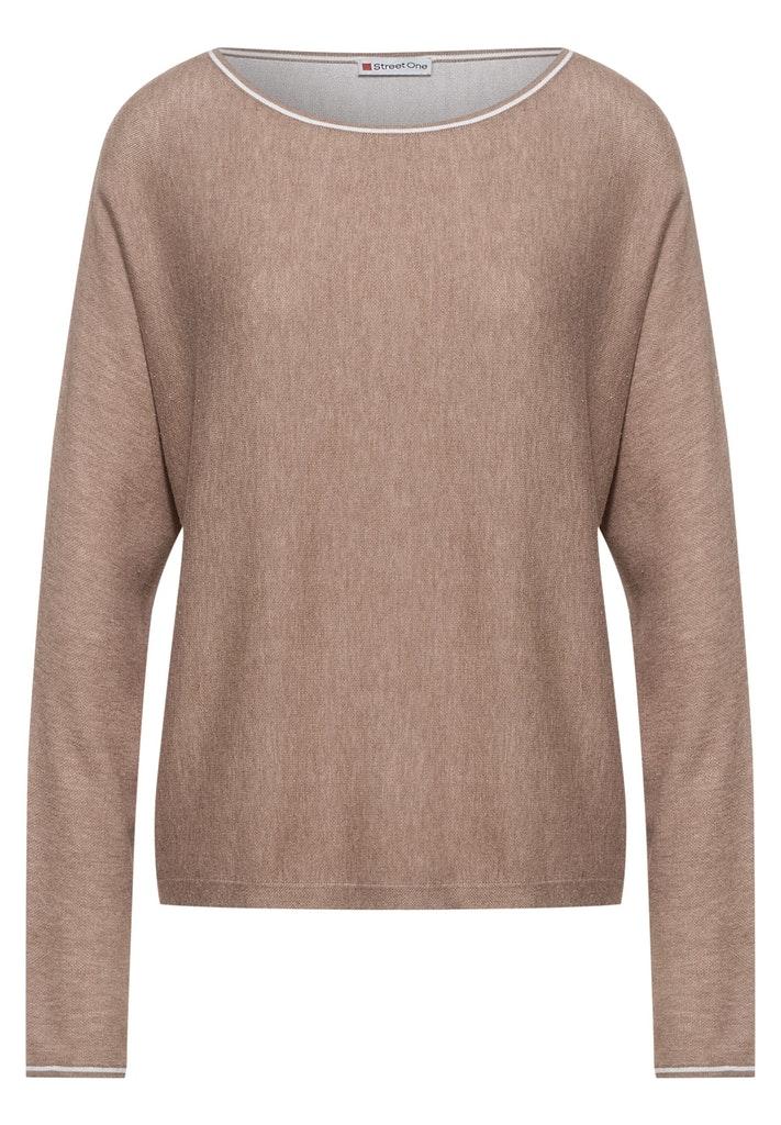 Pullover mit Dolman Ärmeln