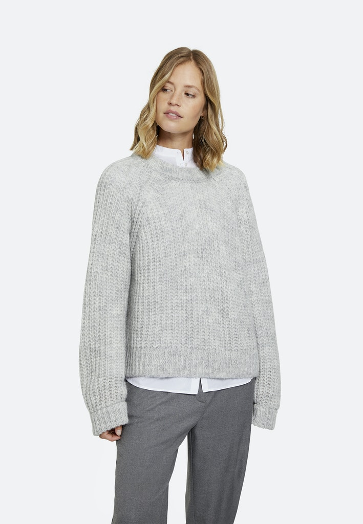 Hairy Raglan Pullover