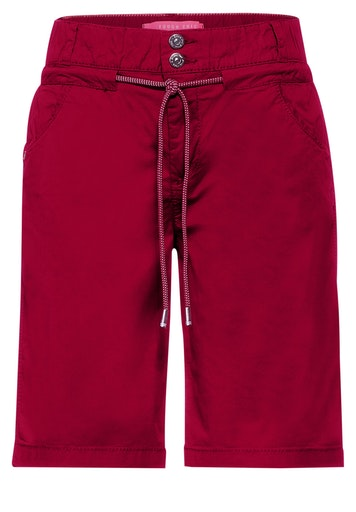 Loose Fit Shorts in Unifarbe