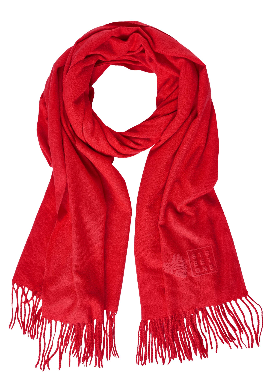 Kuscheliger Schal in Uni